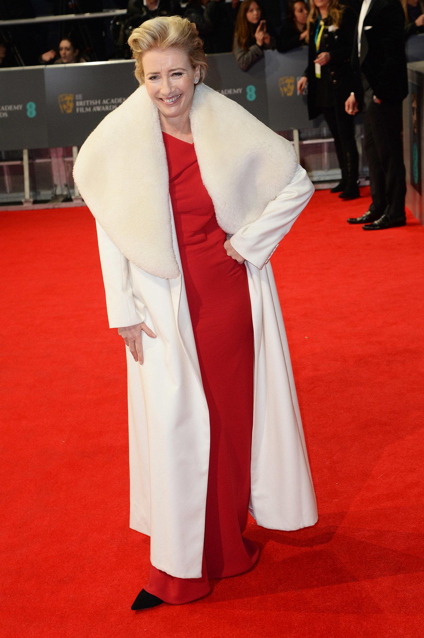 Emma Thompson at the 2014 BAFTA Awards.