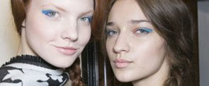 Temperley London Shows the Most Ladylike Way to Wear Blue Liner