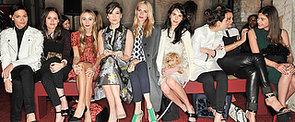 Celebrity Front Row Fashion at London Fashion Week