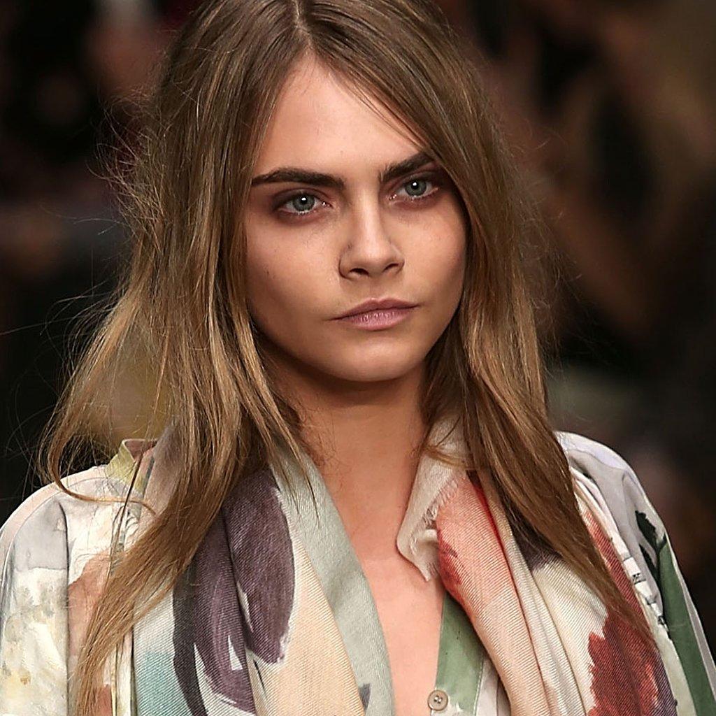 Beauty Looks From Burberry Prorsum London Fashion Week