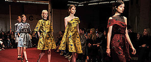 Serious Luxury From Erdem's LFW Collection