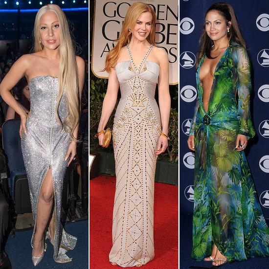 Celebrities Wearing Versace Pictures