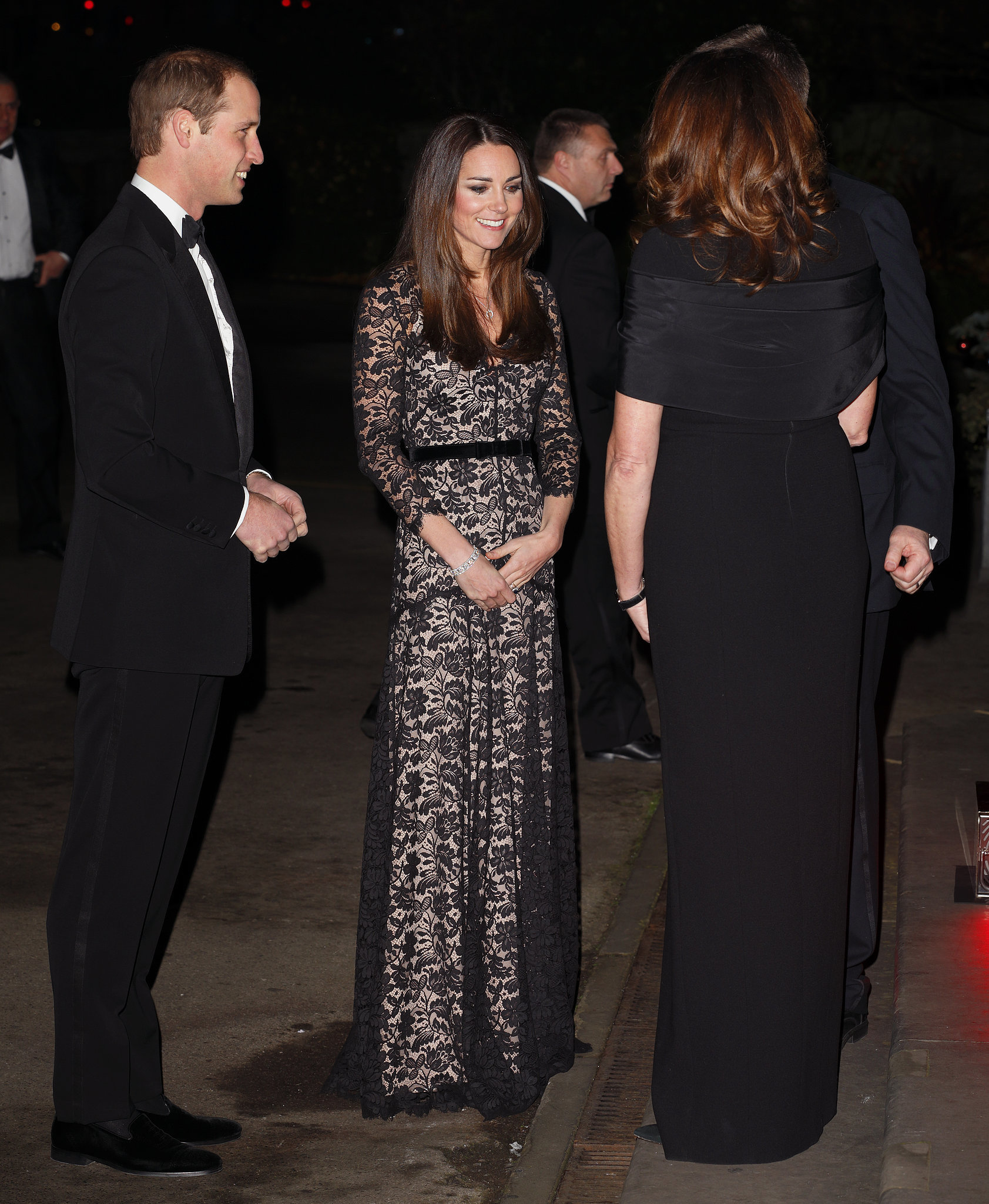Kate Middleton in a Temperley Gown