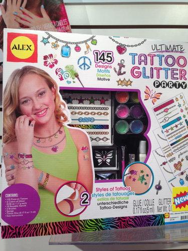Alex Tattoo Glitter Party