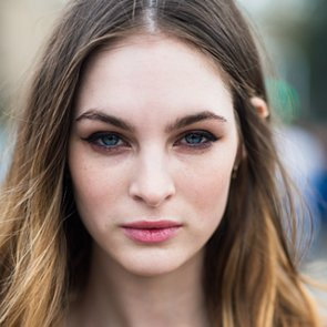 Street Style Hair and Makeup | London Fashion Week Fall 2014