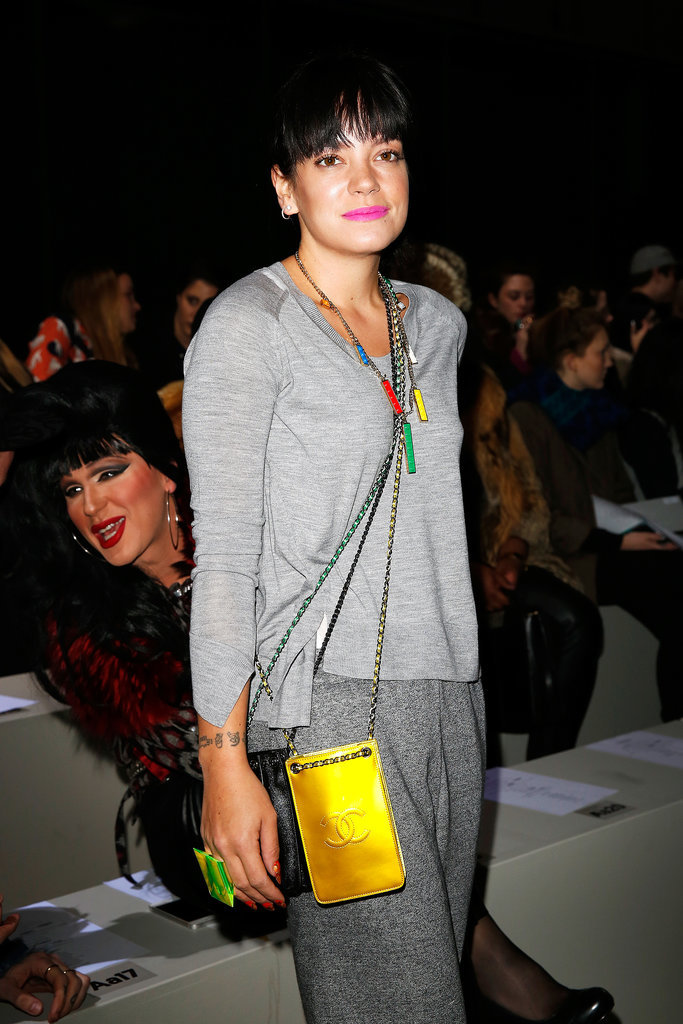 Lily Allen at Ashish
