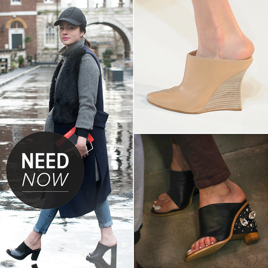 Spring Mules Trend