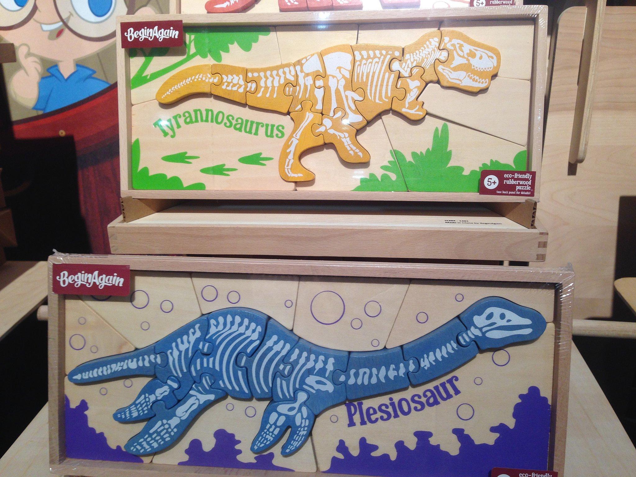 BeginAgain Dino Puzzles