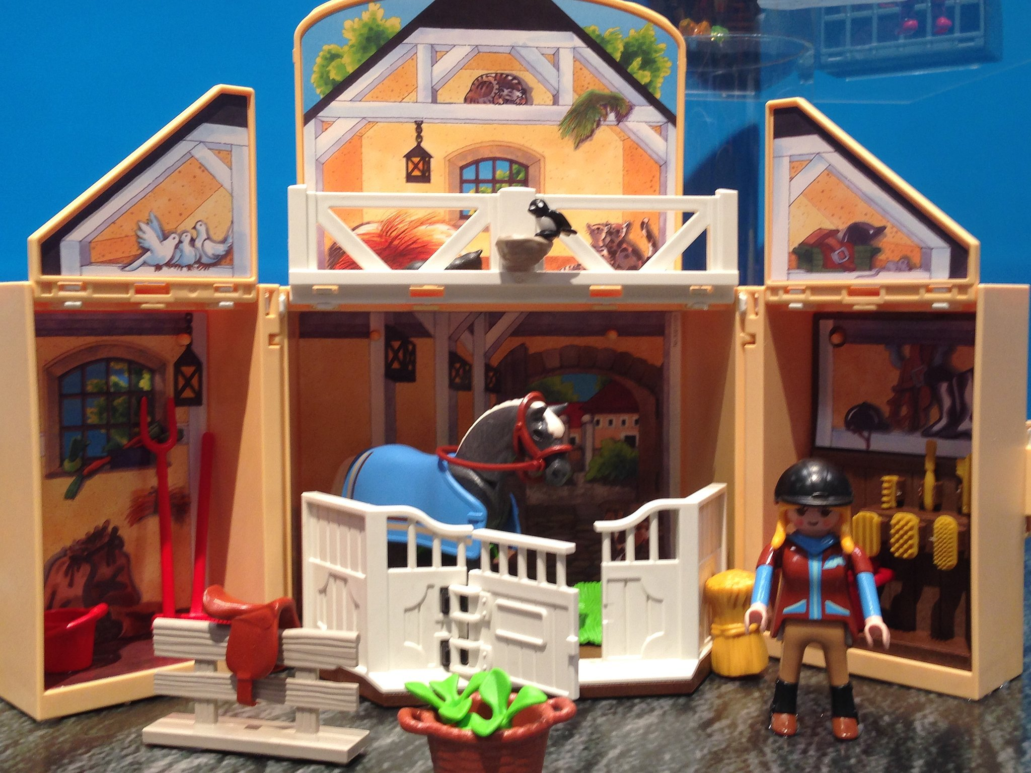 "Debuting in March, Playmobil's ""Secret Play Boxes"" are great for on ..."