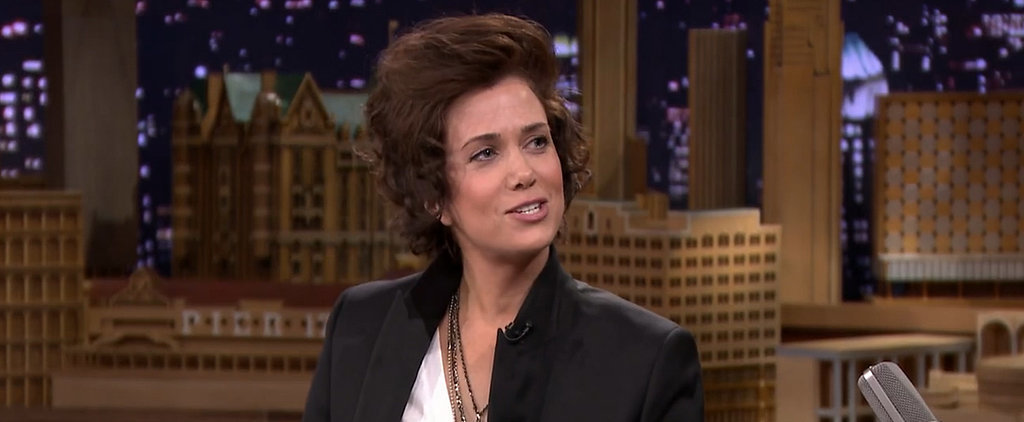 We Don't Know Why Kristen Wiig Dressed Up as Harry Styles, but We Like It