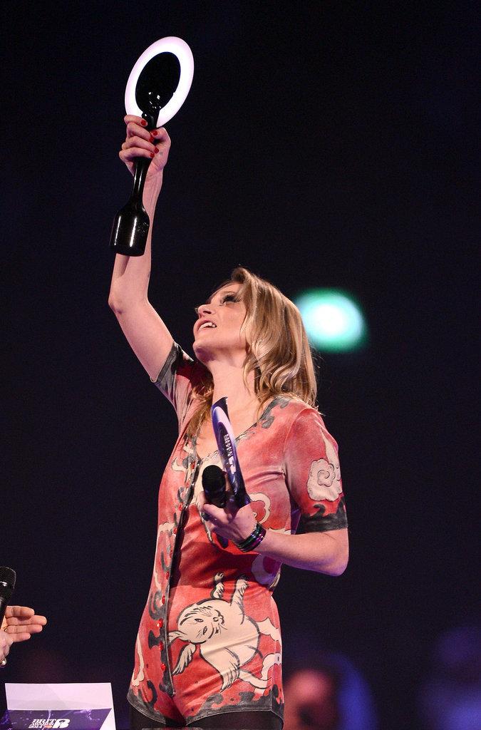 Kate Moss at the 2014 Brit Awards