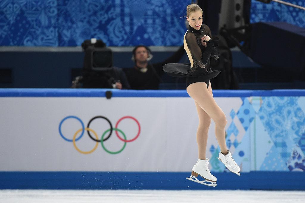 Italian Carolina Kostner, 27, gave a triumphant performance to secure the bronze.