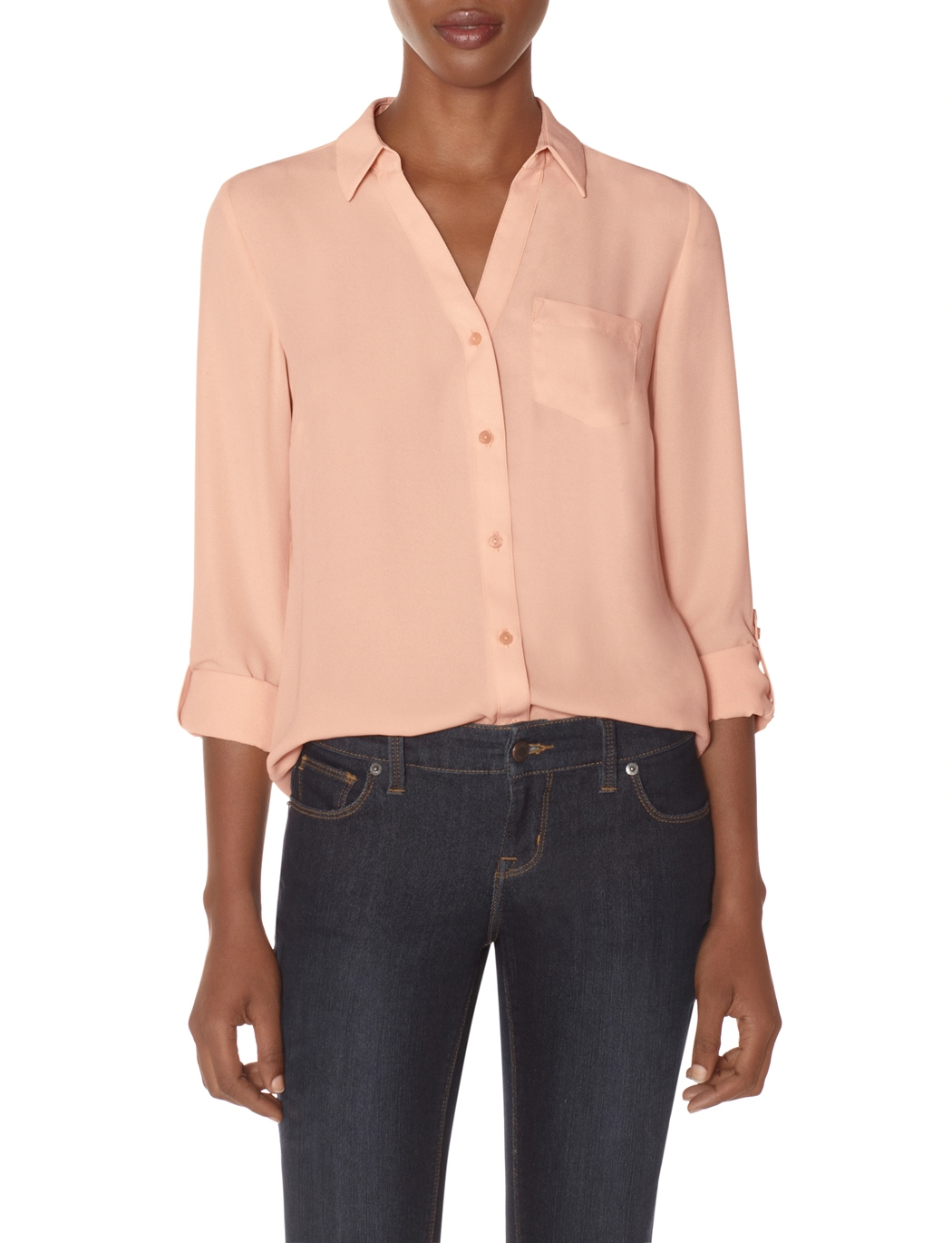 Style Tip: Blush is the new neutral.