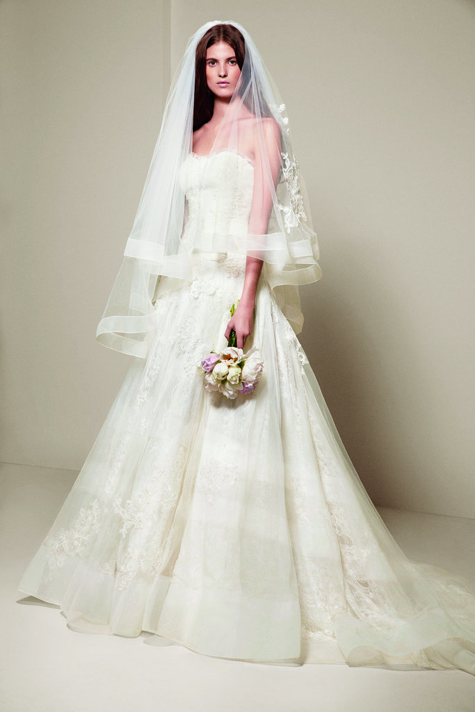 White by vera wang wedding dresses spring 2014 popsugar for Vera wang 2014 wedding dress