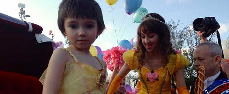 Town Grants Little Girl Her Fairy-Tale Wish