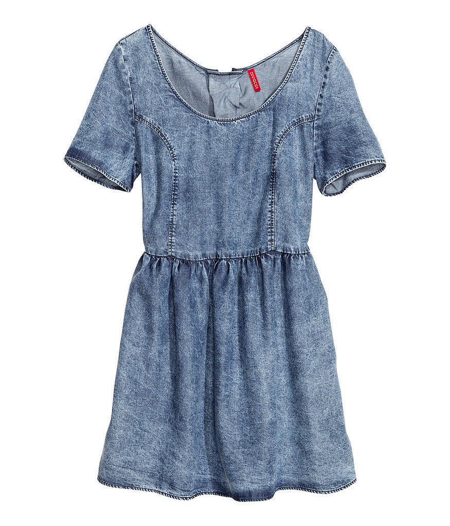 H&M Denim Dress ($25)