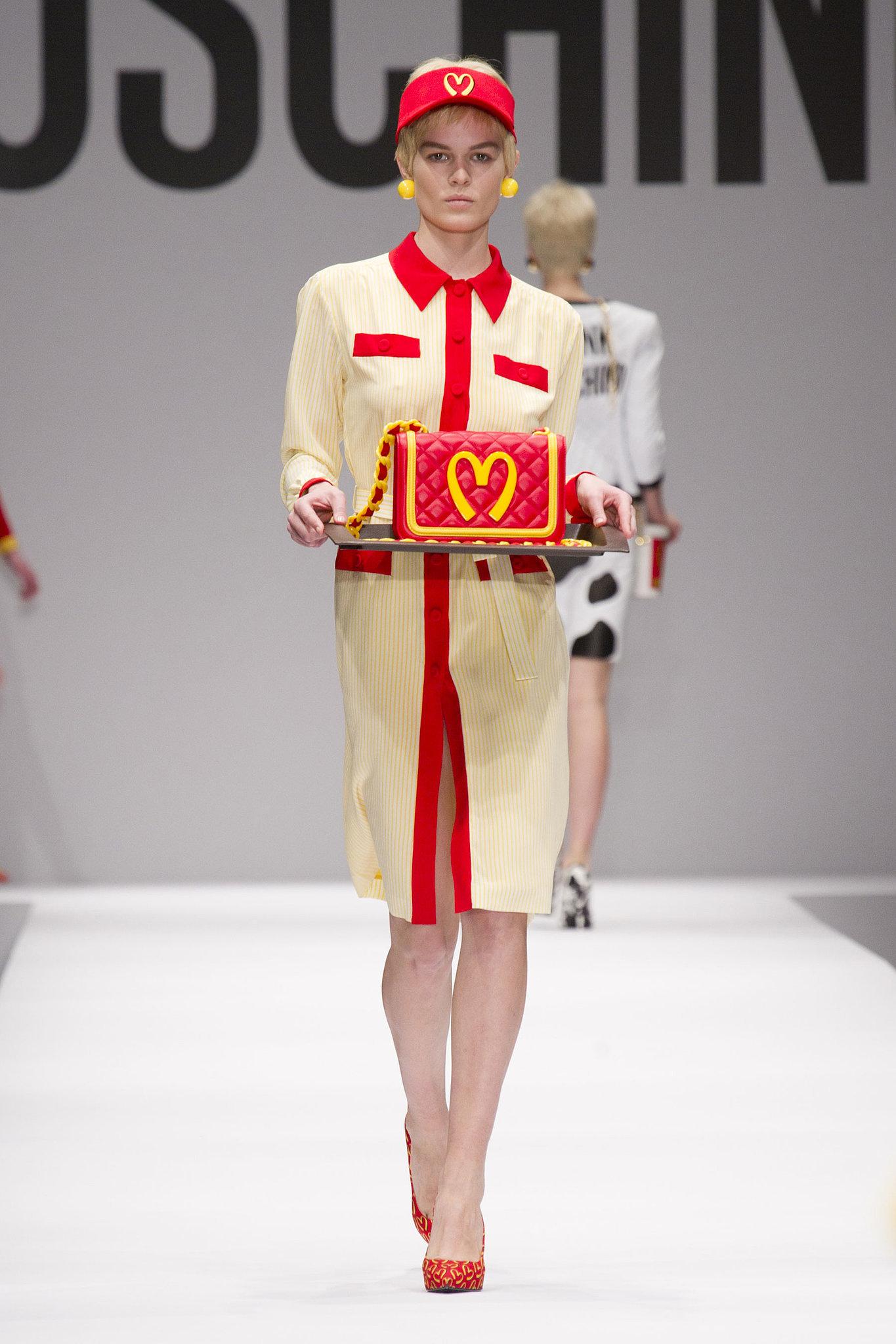 Moschino Fall 2014 Ronald Mcdonald Called He Wants His Look Back Popsugar Fashion