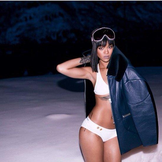 Rihanna Wears a Bikini to Celebrate Her Birthday in the Snow