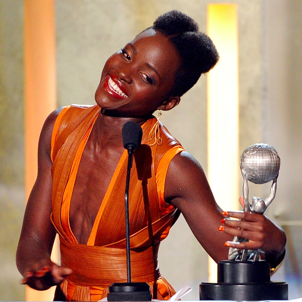 Anne Hathaway Opens Up About Her History With Rage: Lupita Nyong'o At The 2014 NAACP Image Awards
