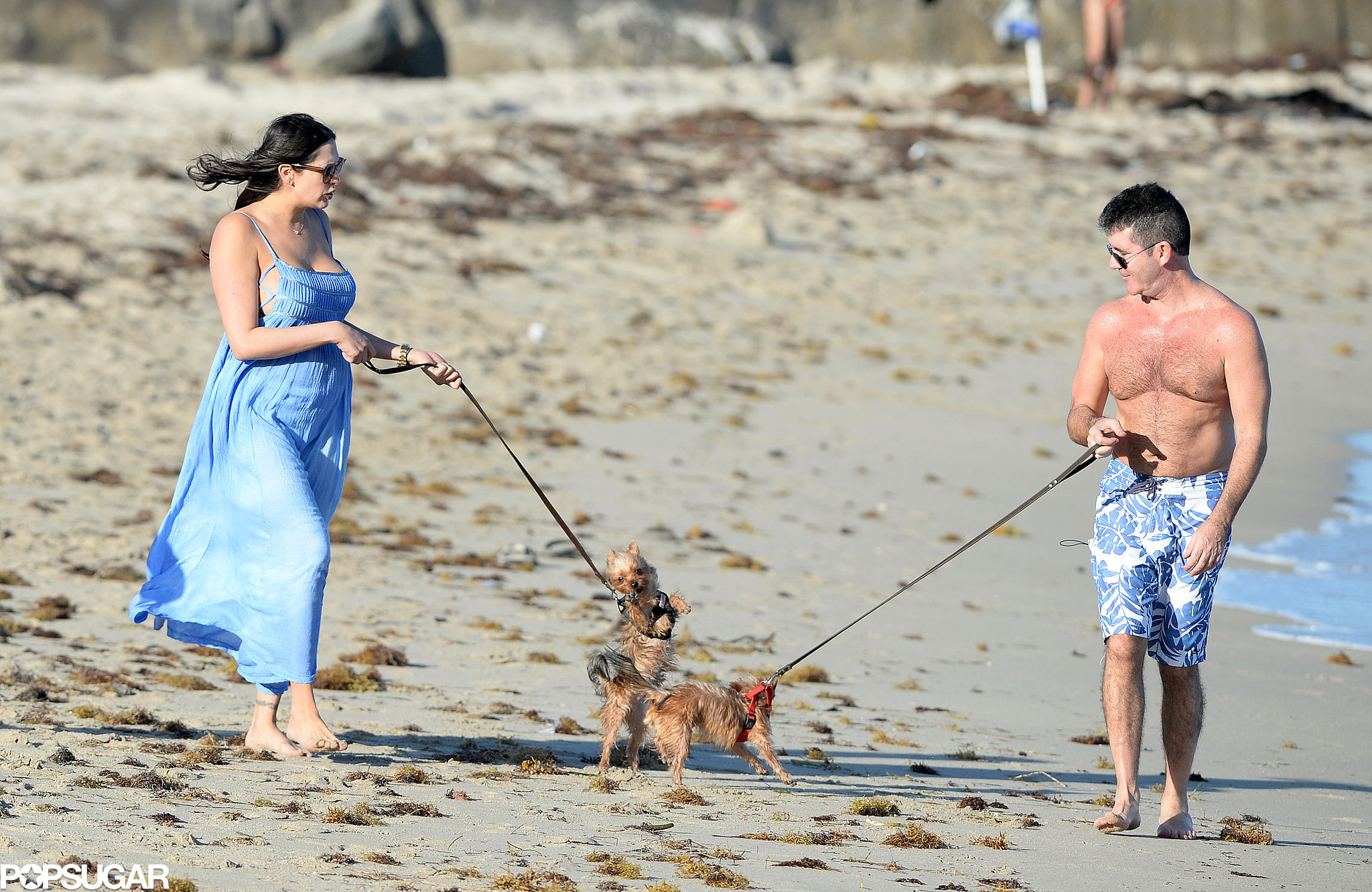 Simon and Lauren Celebrate Their Son's Birth With a Beach Getaway