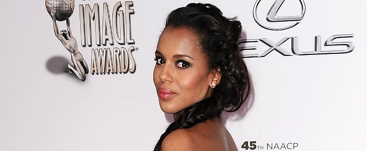 Kerry Washington Ups the Braid Game in a Huge Way