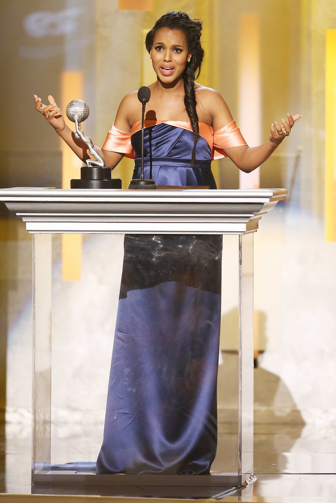 Kerry Washington — and Her Baby Bump! — Feel the Winning Love