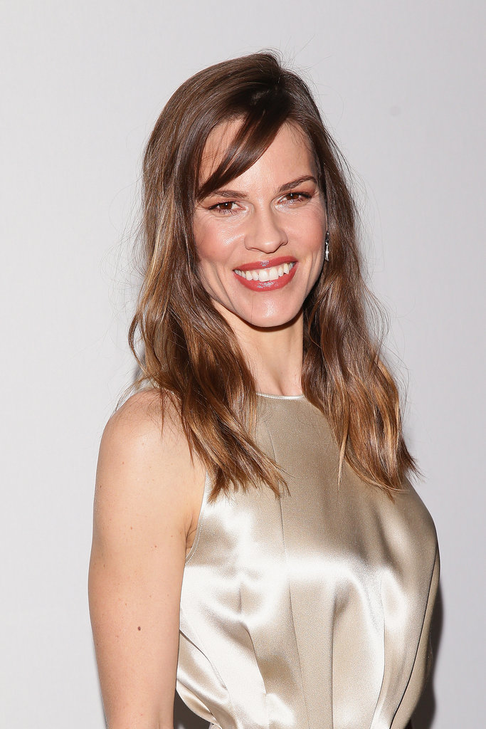 Hilary Swank at Salvatore Ferragamo