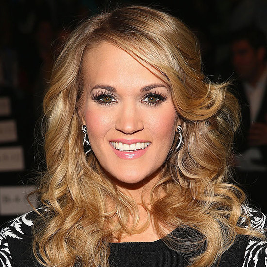 Carrie Underwood Interview DIY Smoky Eyes, Hair, Nails