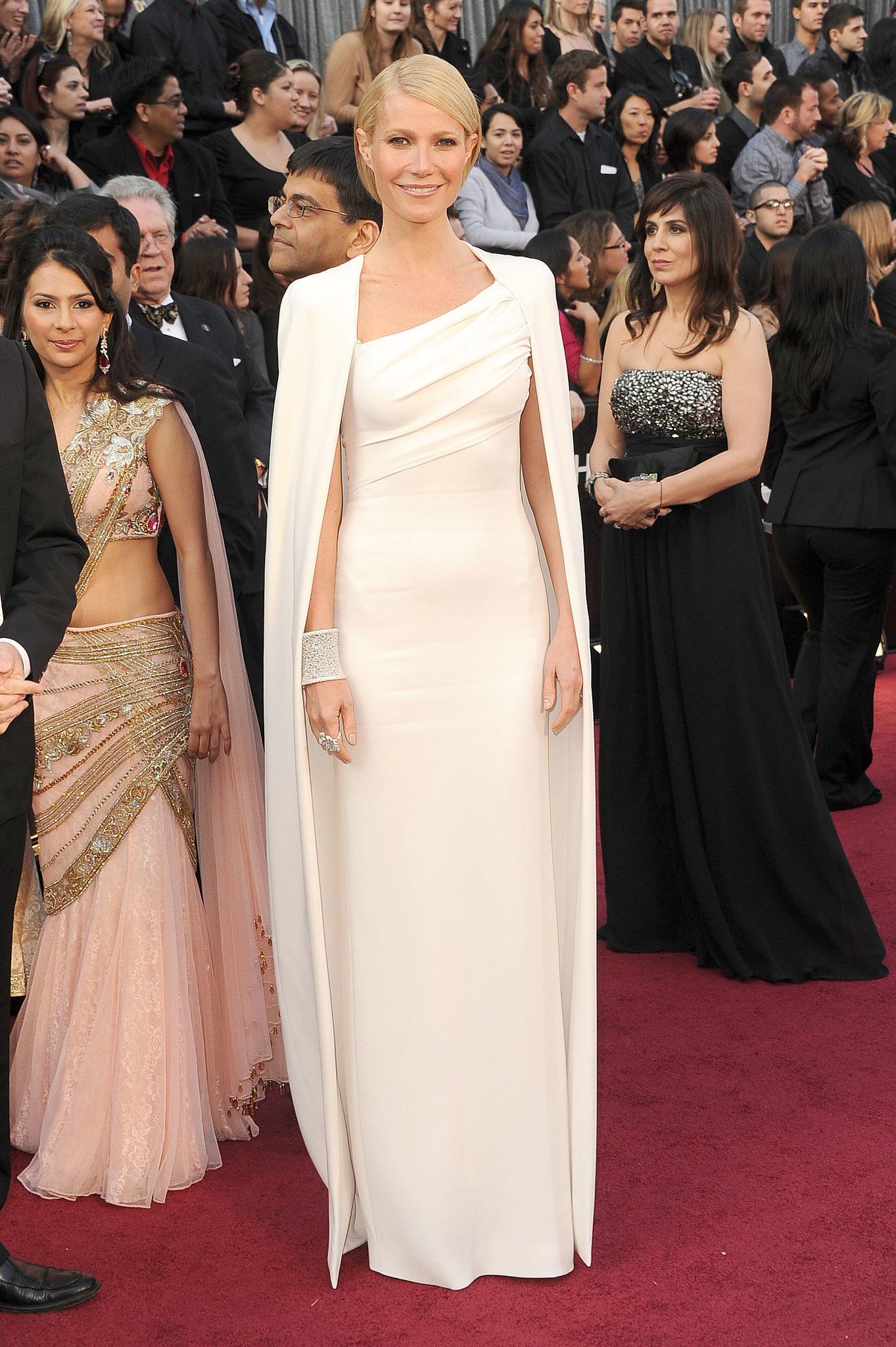 Gwyneth Paltrow at the 2012 Academy Awards