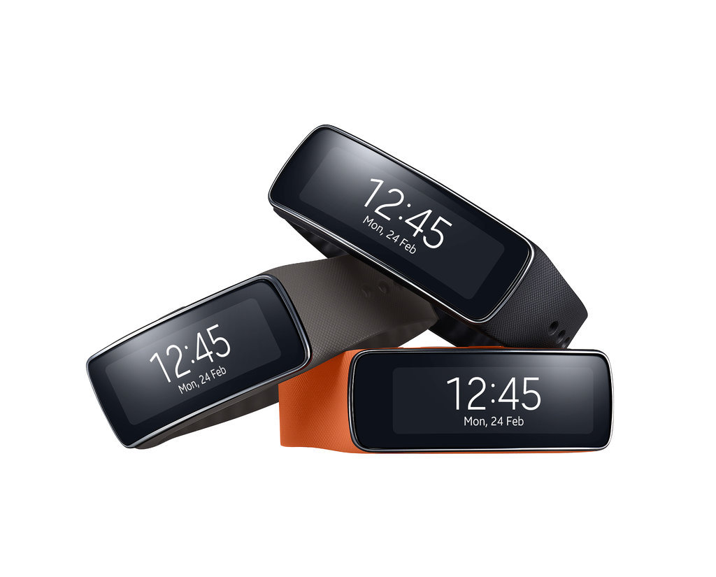 Samsung's Gear Fit Isn't Just a Fitness Band — It's a Smartwatch, Too