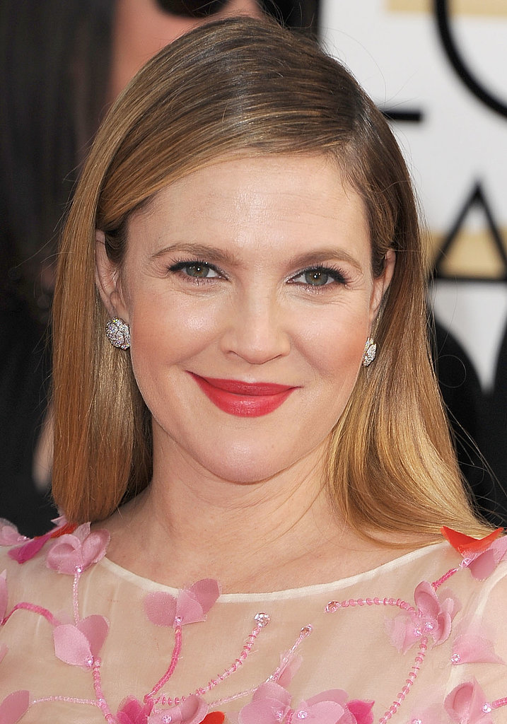 Drew at the Golden Globe Awards