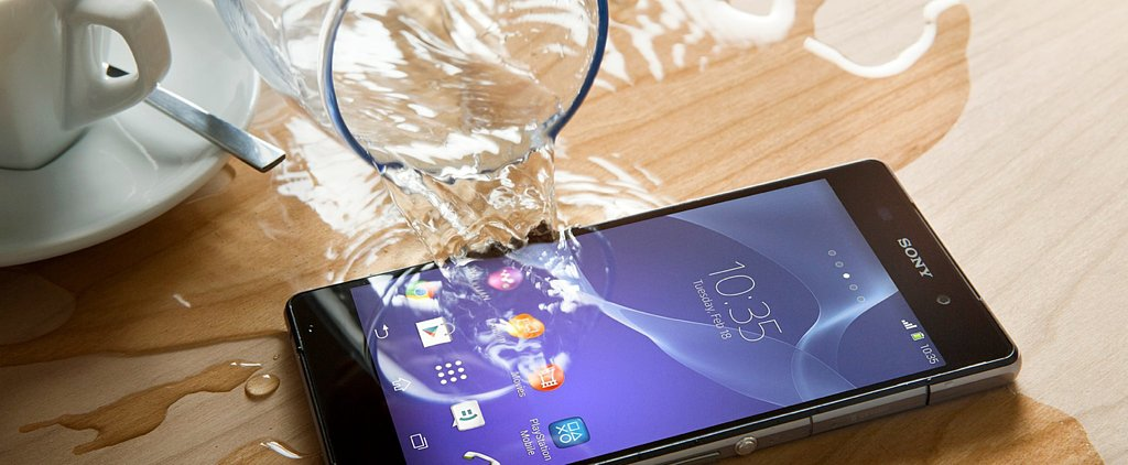You Can Totally Spill Water on Sony's New Smartphone and Tablet