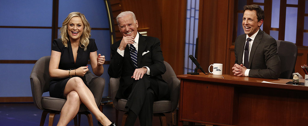 "Joe Biden Makes a ""Big Announcement"" With Amy Poehler"