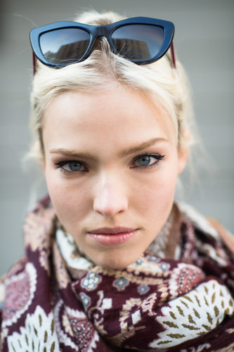 MFW Beauty Street Style Fall 2014