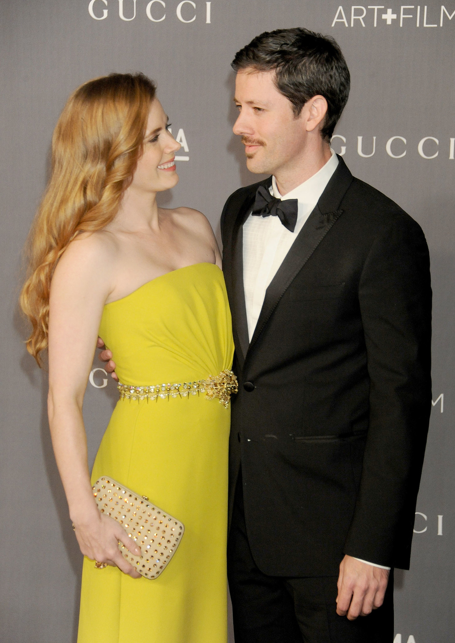 She gave him a loving look at the LACMA Art + Gala in LA in October 2012.