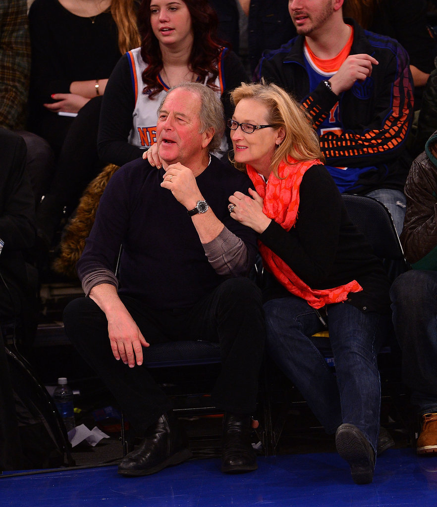When Meryl sat with 50 Cent at a Knicks game in 2014, her actual date was Don, who cheered with her courtside.