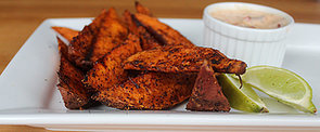 Baked Sweet Potato Fries For BBQ Bliss