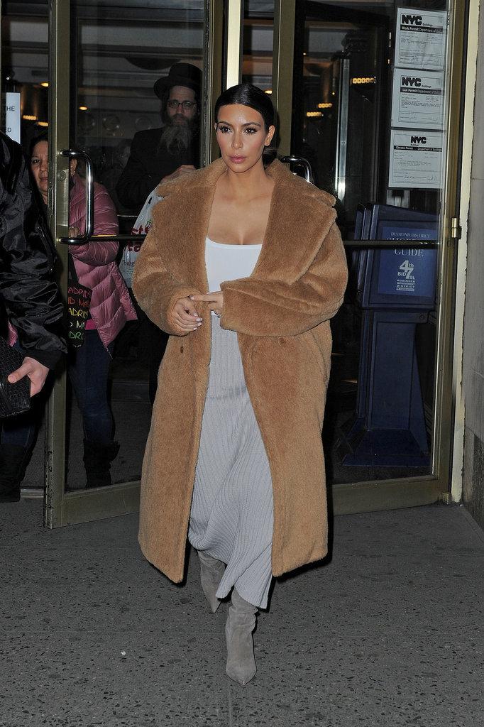 Kim Kardashian Fits In a Selfie Before Hitting Up Austria