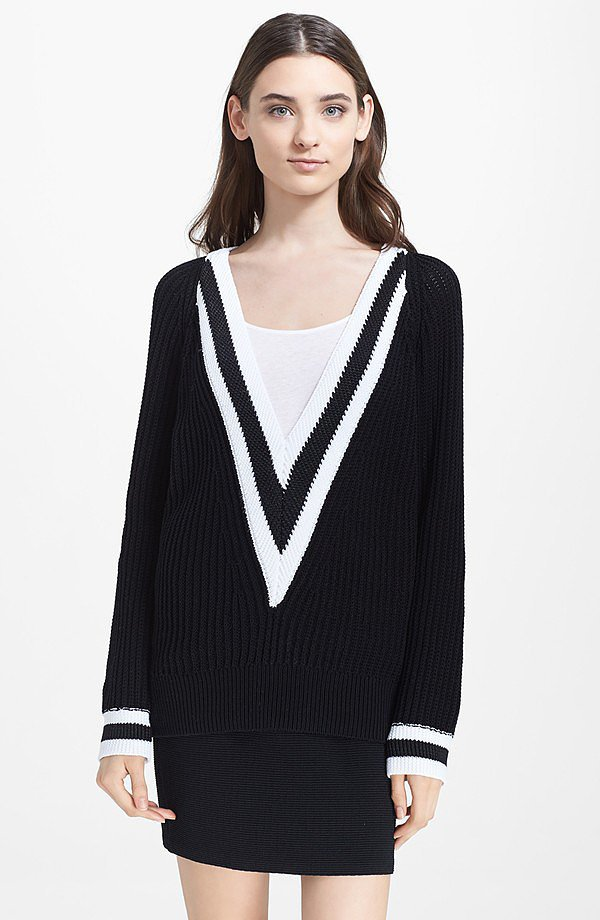 Rag & Bone Talia V-Neck Sweater