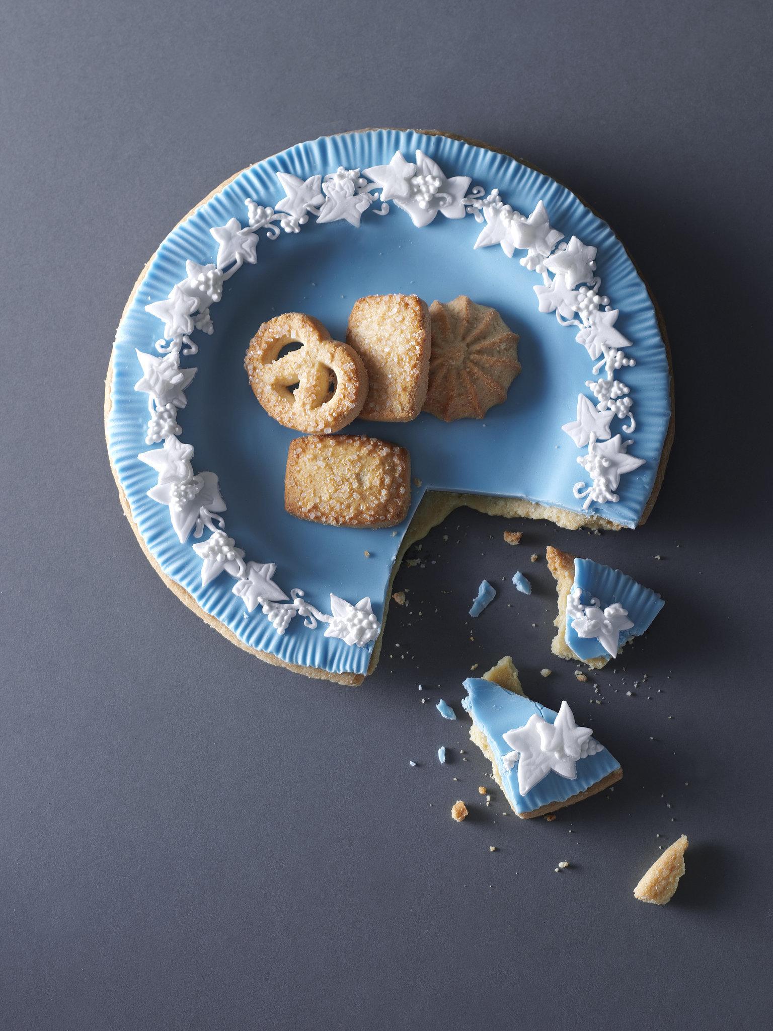 Wedgwood-Inspired Shortbread