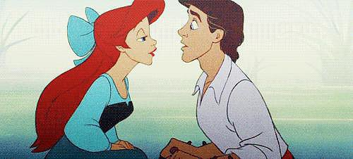 That moment when you thought you were going to get your first kiss.