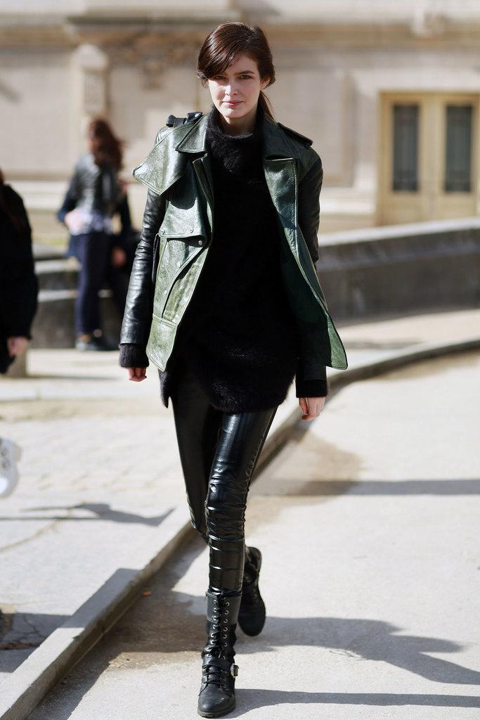 PFW Model Street Style Day Three