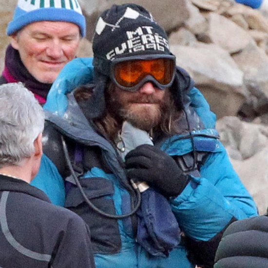 Jake Gyllenhaal With a Beard on Everest Set   Pictures