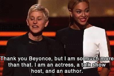 Bottom line: she holds her own alongside Beyoncé.