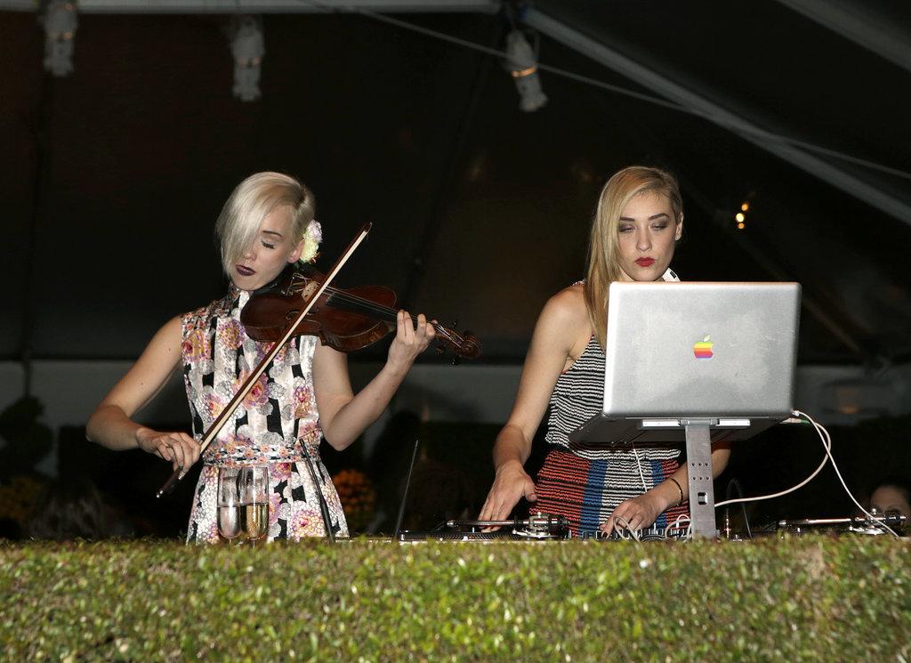 Mia Moretti and Caitlin Moe of The Dolls