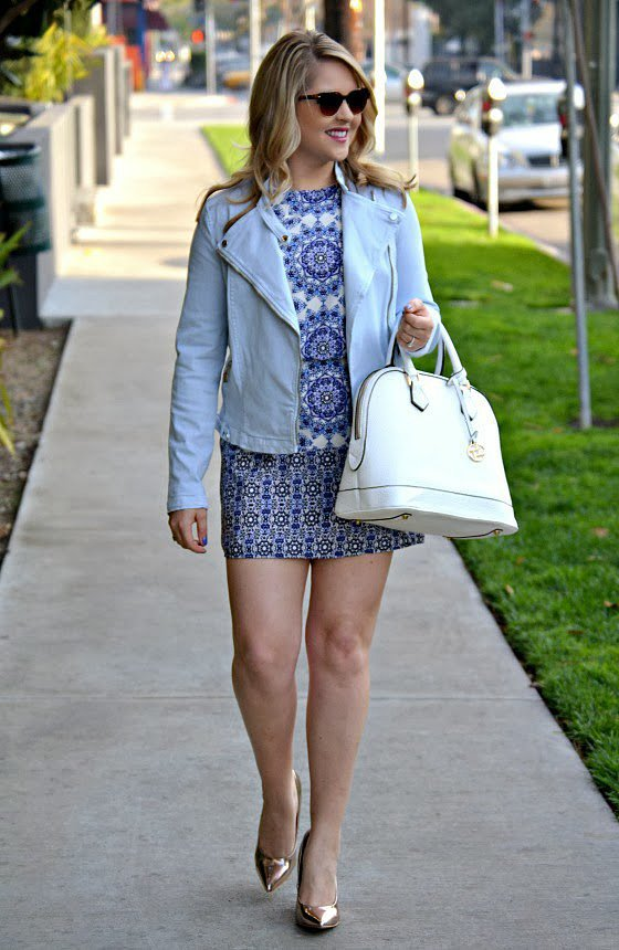 Congrats, EnvisionPretty! That white bag is the perfect accent to your ensemble.