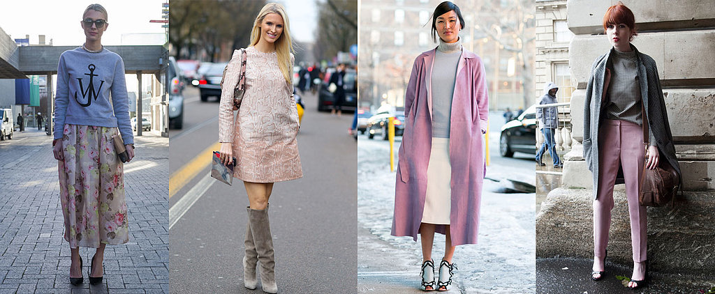 15 Ways to Wear This Season's Coolest Colour Combination