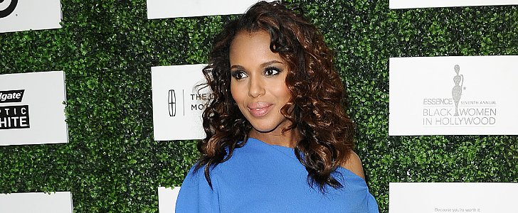 Do You Like Kerry Washington's Bouncy, Curly Hairstyle?