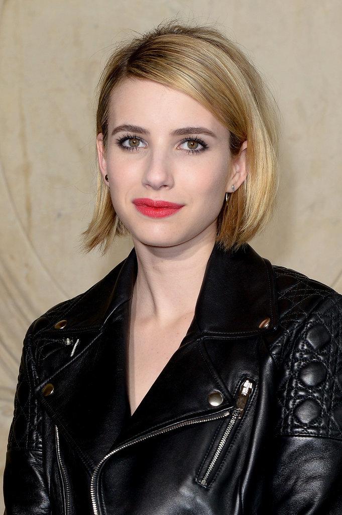 Emma Roberts at Christian Dior