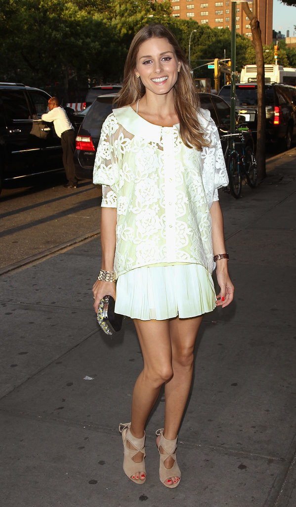 For a July 2013 film screening, the style-star gave her LWD a sexy twist with Aquazurra heels.